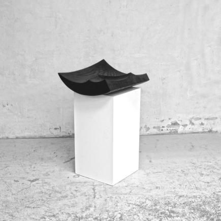 BlackGeometricSculpture-2016